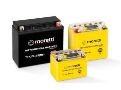 Akumulatory Moretti I-Gel, LCD Gdańsk